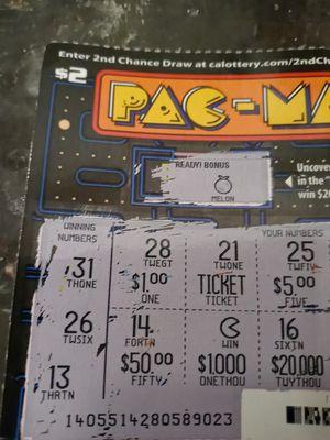 Scratcher ticket for Sale in Sacramento, CA