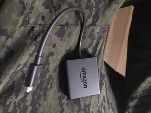 Amazon Fire Cube TV Stick Ethernet Adapter for Sale in Chicago, IL