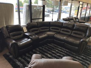 Sectional sofa on sale @ elegant furniture 🎈🛋🛏 for Sale in Fresno, CA