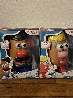 Playskool Mr. & Mrs. Potato Head Toys (OR BEST OFFER) for Sale in North Brunswick Township,  NJ