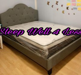 New Beautiful Queen Bed for Sale in Lynwood,  CA
