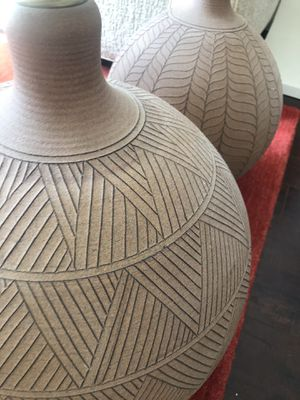 Vintage ceramic lamps BROWN for Sale in West Hollywood, CA