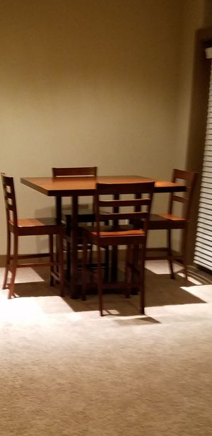 Pub Table with 4 Chairs for Sale in Las Vegas, NV