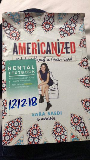 Americanized: Rebel Without A Green Card Book for Sale in Kent, WA