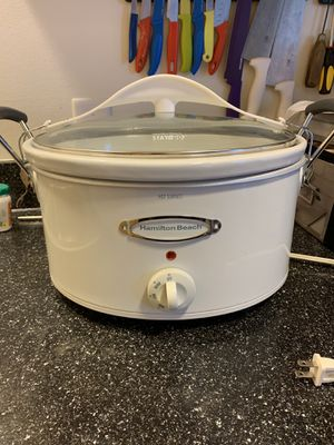 Hamilton Beach 6-Quart Crock Pot for Sale in Long Beach, CA