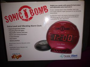 Sleep through your alarm? Sonic Bomb will wake your butt up ,guaranteed! for Sale in Lawrenceville, GA