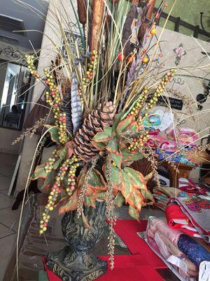 Vase with plants for Sale in Phoenix, AZ