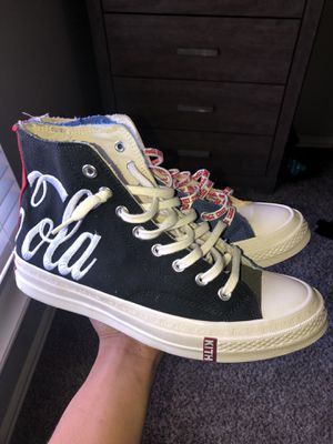 Converse x Coca Cola x Kith Friends and family sz 10 for Sale in Mansfield, TX