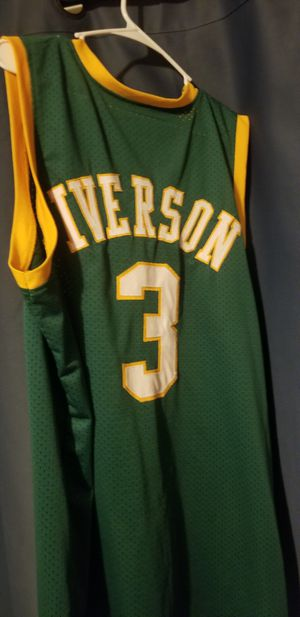 2XL stitched Allen Iverson Bethel college jersey for Sale in Pittsburgh, PA