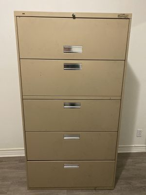 Hon Lateral Metal Filing Cabinet for Sale in Alhambra, CA