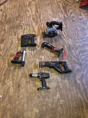 Craftsman 19.2 power tools for Sale in Williamstown, NJ