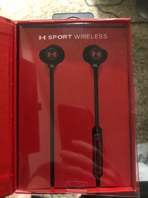 Under armor wireless headphones for Sale in Lodi, CA