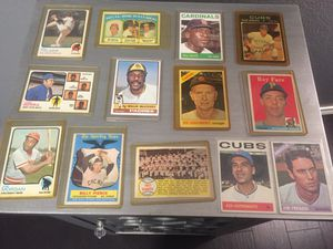 Vintage Baseball Card Lot of HOFers & All-Stars for Sale in Irving, TX