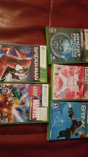 Five xbox 360 games for Sale in Brentwood, TN