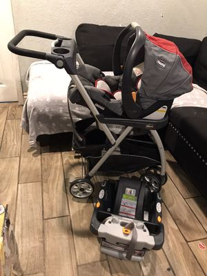 Chicco stroller and car seat for Sale in Riverside, CA