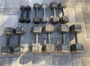 Dumbbell weights for Sale in Pompano Beach, FL