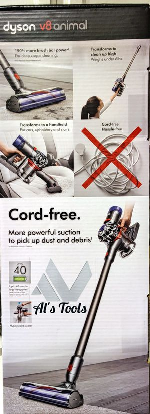 Dyson V8 animal cordless vacuum cleaner with 40min runtime for Sale in Paramount, CA