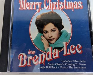 """""""Merry Christmas from Brenda Lee"""", Christmas music CD for Sale in Berlin,  CT"""
