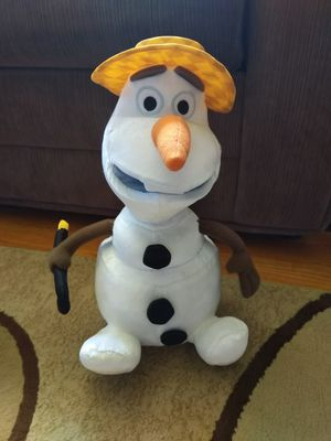 Summertime Talking/Singing Olaf for Sale in Monongahela, PA