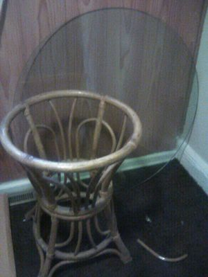 Wicker table for Sale in Greensboro, NC