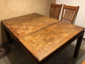 NICE OAK BUTCHER BLOCK TABLE for Sale in Lynwood, CA