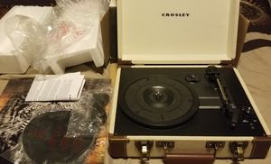 Brand New Crosby Record Player for Sale in Bridge City, TX