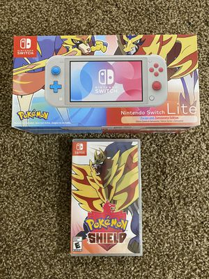 Nintendo Switch Lite LIMITED Edition with Pokemon for Sale in Bremerton, WA