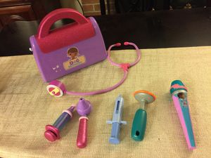 Doc mcstuffins medical kit for Sale in Manassas, VA