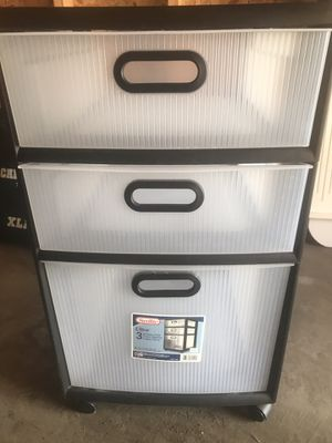 FREE Three Drawer Plastic Office Organizer for Sale in Louisville, CO