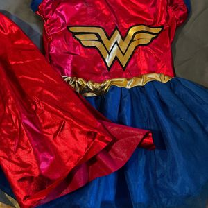 Toddle Costume, Wonder Woman, Size 4 & 2. for Sale in Ontario, CA