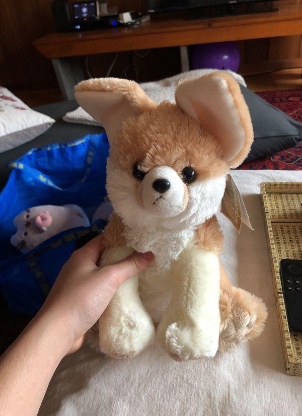 Plush fennec fox