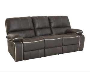 Brand New Charcoal Reclining Sofa for Sale in La Vergne, TN