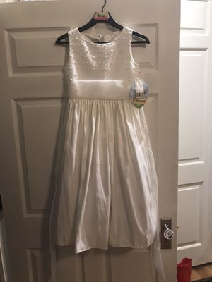 Cinderella Brand Size 12 Ivory Flower Girl Dress New with Tags for Sale in Philadelphia, PA