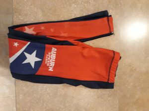 Inline speed skating kids red white and blue zip-up pants size 16 for Sale in Lacey, WA