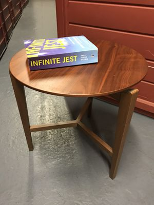 Wood side table, originally 300$ and for sale  excellent condition for Sale