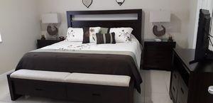 Riata Storage King Bedroom Set from El Dorado Furniture for Sale in Hialeah, FL