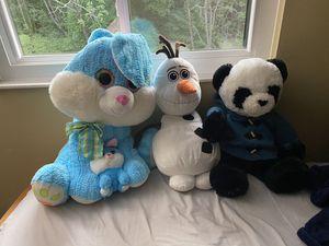 3 big stuffed animals for Sale in McDonald, PA