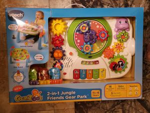 V-tech 2-in-1 Jungle Friends Gear Park for ages 1¹/²-4 years old for Sale in Brandon, MS