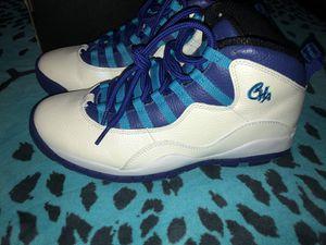 Retro Jordan's/Charlotte 10's/Size:9/$100 for Sale in Tampa, FL