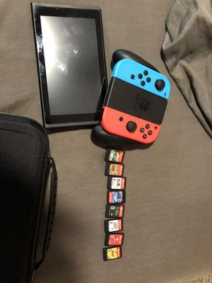 Good condition Blue and Red Nintendo Switch for Sale in Atlanta, GA
