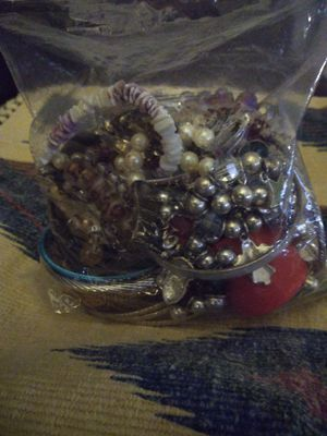 A large bag of misc jewelry& 2 med. size bags for Sale in Phoenix, AZ