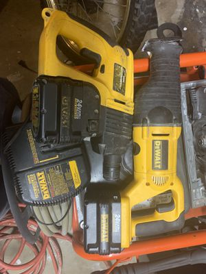 DeWalt 24 and Sawzall and hammer drill for Sale in Eugene, OR