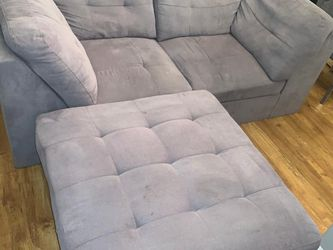 Grey Couch And Ottoman for Sale in Philadelphia,  PA