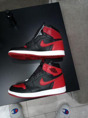 "Jordan 1 bred ""banned"" 2016 size 9 vnds for Sale in Pompano Beach, FL"