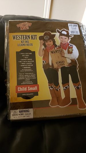 Western kit costume for Sale in Hayward, CA