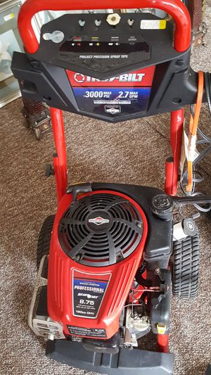 Troy-bilt pressure washer for Sale in Pittsburgh, PA