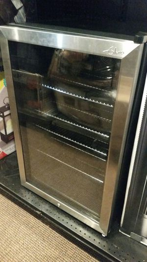 Mini refrigerator stainless steel for Sale in Modesto, CA