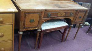 Vintage inlaid Desk/Vanity for Sale in Manassas, VA
