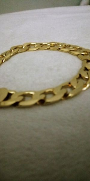 Bracelet for man in Gold plated for Sale in Rolling Meadows, IL