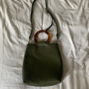 Sage Green Faux Leather Purse for Sale in Seattle, WA